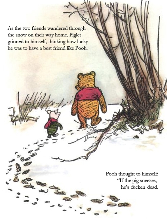 pooh and the swine flu