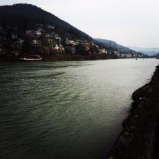 Der Neckar (Blick auf Handschuhsheim)