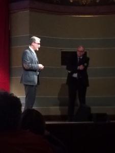 Prof Zepp redet