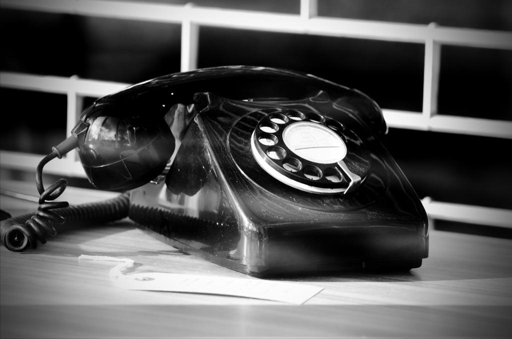 (dies ist ein Telefon)